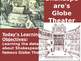 Drama Unit - Introduction to Shakespeare and the Globe Theatre