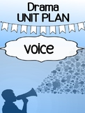Drama - Unit Plan for high school - Voice