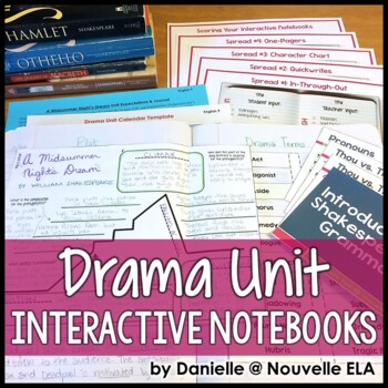 Drama Unit for Interactive Notebooks