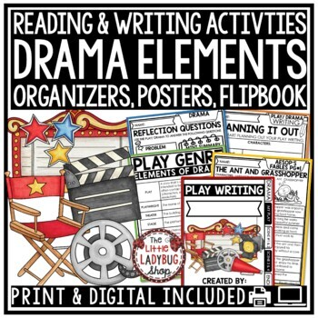 Elements Of Drama Worksheets & Teaching Resources | TpT