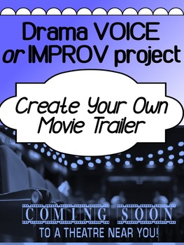 Drama - IMPROV project - Create Your Own Movie Trailer