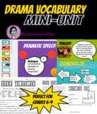 Drama Vocabulary Mini-Unit - Presentation, Worksheet, and Quizzes