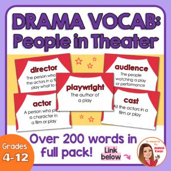 Drama Flash Cards (People)