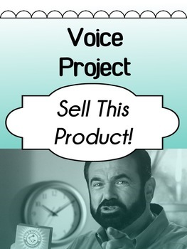 Drama - Voice Improv Project - Sell This Product!!!