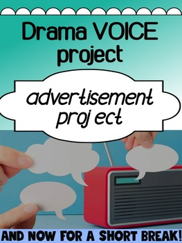 Drama - Voice project - Radio advertisements (for high school)