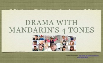 Drama With Mandarin's Four Tones (Chinese)