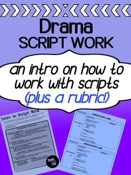 Drama - Working with scripts (an intro)