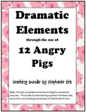 Drama and Archetype: Twelve Angry Pigs (with keys) - adaptable .doc and .ppt
