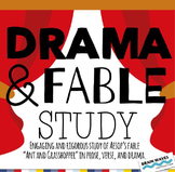 "Drama and Fable Study, ""Ant and Grasshopper"" - Play, Verse, and Prose - BUNDLE"
