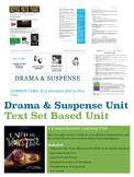 Drama and Suspense Unit: Middle School Common Core - English and Language Arts