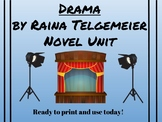 Drama by Raina Telgemeier Common Core Unit