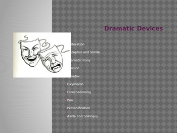 Dramatic Devices PowerPoint