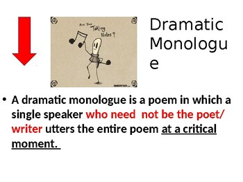 Dramatic Monologue: A Creative Writing Exercise