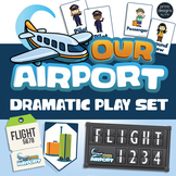 Airport Dramatic Play Set - Preschool and Kindergarten
