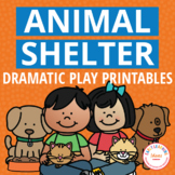 Dramatic Play Animal Shelter Printables for Preschool and Pre-K