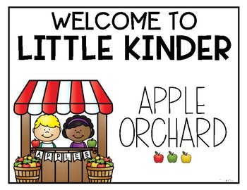 Dramatic Play: Apple Orchard