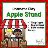 Dramatic Play Apple Stand Pack!