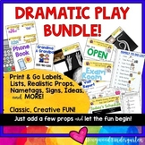 Dramatic Play BUNDLE! Camping, Home, Cookie Shop, Vet, Post Office, Fitness, etc