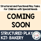 Dramatic Play Bakery for Preschool Special Education