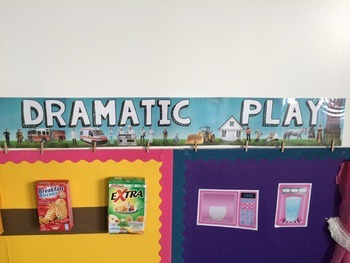 Dramatic Play Banner