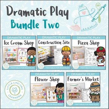 Dramatic Play Bundle 2 - Prep and Foundation Imaginative Play Resources