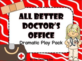 Dramatic Play Bundle #3