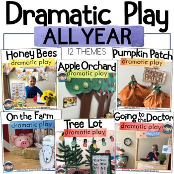 Dramatic Play Bundle / Pretend Play Printables