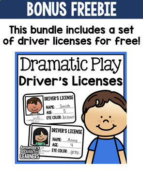 Dramatic Play Bundle - Second Edition