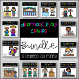 Dramatic Play Centers - BUNDLE!!!