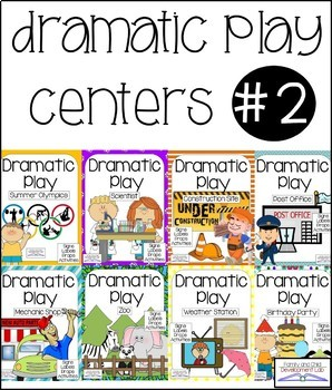 Dramatic Play Center Bundle- Set #2