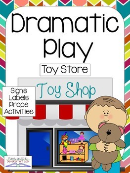 Dramatic Play Center Bundle- Set #3
