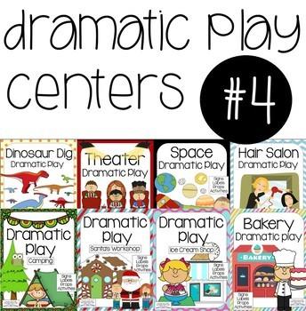 Dramatic Play Center Bundle- Set #4