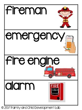FIRE FIGHTER/ FIRE STATION Dramatic Play Center