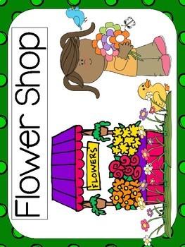 FLOWER SHOP Dramatic Play Center