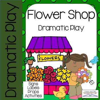 Dramatic Play Center - Flower Shop