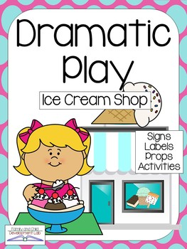 Dramatic Play Center Mega- Bundle (Sets #1-#4)