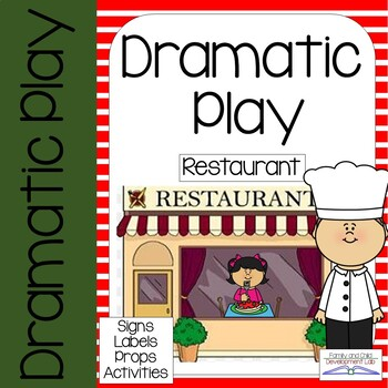 Dramatic Play Center - Restaurant