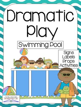 SWIMMING POOL Dramatic Play Center