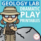 Dramatic Play Center for Preschool & PreK Rocks Theme | Geology Lab Pretend Play