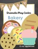 Dramatic Play Centers: Bakery