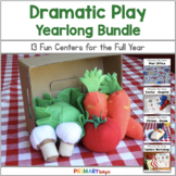 Dramatic Play Centers - Yearlong Bundle