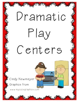 Dramatic Play Centers for the entire YEAR! [100 FOLLOWER LIMITED TIME FREEBIE]