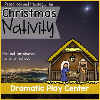 Dramatic Play Christmas Nativity