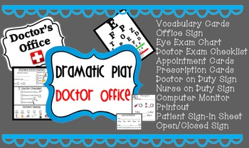 Dramatic Play - Doctor's Office