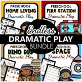 Dramatic Play Endless Mega Bundle /  Preschool & PreK Pretend Play Centers