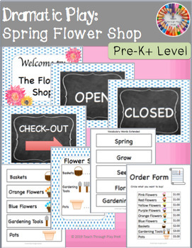 Dramatic Play Flower Shop