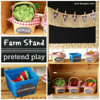Garden and Farm Stand Dramatic Play
