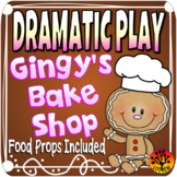 Dramatic Play Gingerbread Bakery Restaurant Christmas Centers Housekeeping