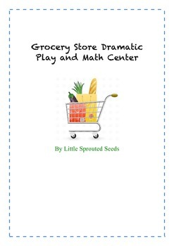 Dramatic Play, Grocery Store Math