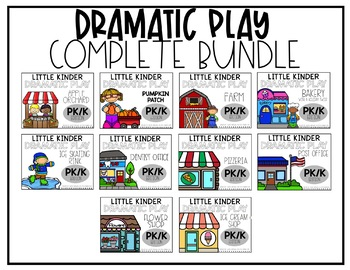 Dramatic Play Growing Bundle